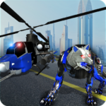 Air Force Transform Robot Cop Wolf Helicopter Game APK MOD 1.3.1