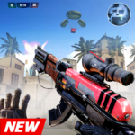 FPS Air Shooting : Fire Shooting action game APK MOD 110