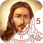 Bible Coloring – Paint by Number, Free Bible Games APK MOD 2.18.0 b