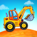 Truck games for kids – build a house, car wash APK MOD 5.17.1