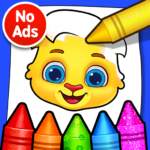 Coloring Games: Coloring Book, Painting, Glow Draw APK MOD 1.0.7