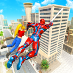 Flying Police Robot Rope Hero: Gangster Crime City APK MOD 31