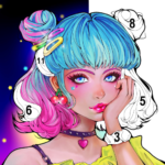 Flora Coloring: Color by Number Painting Game APK MOD 1.0.18