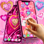 Girly pink live wallpapers (APK, Premium Cracked) 16.0