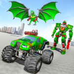 Monster Truck Robot Wars – New Dragon Robot Game APK MOD 1.1.1
