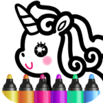 Kids Drawing Games for Girls 🎀 Apps for Toddlers! APK MOD 1.7.0.1