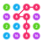 Connect The Pops : Join The Dots : Connect Number APK MOD 1.3