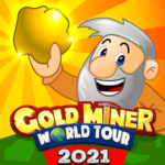 Gold Miner World Tour: Gold Rush Puzzle RPG Game APK MOD 1.8.1