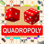 Quadropoly Best AI Board Business Trading Game APK MOD  1.78.91