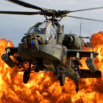 Gunship Force: Free Helicopter Games Attack 3D APK MOD