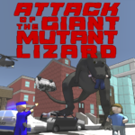 Attack of the Giant Mutant Lizard APK MOD 1.1.2