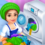 Laundry Service Dirty Clothes Washing Game APK MOD v1.21