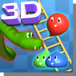 Snakes and Ladders, Slime – 3D Battle APK MOD 1.53
