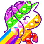 Coloring games for kids and toddlers 2-5 years old MOD (Unlimited Money) 1.6.0